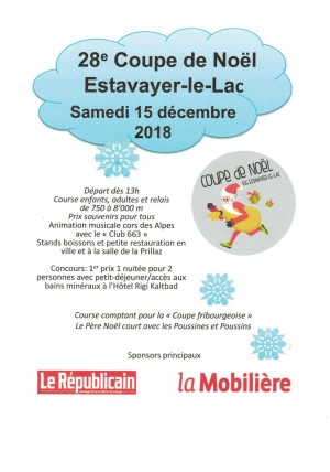 Course à pied - Coupe de Noël Estavayer-le-Lac