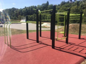 Streetworkout - Moudon inaugure son aire de musculation en plein air
