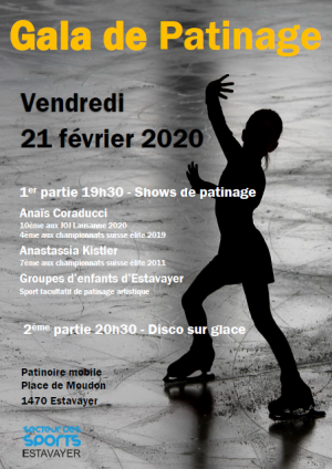 Gala de patinage à Estavayer-le-Lac